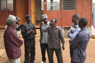 WJEI, known as Sita Kimya in Kenya, men's awareness and change agent group. Photo by Elly Arnoff