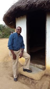 Sam Wambugu - Recent photo visiting a traditional homestead in Swaziland