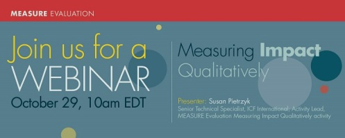 Measuring Impact Qualitatively_webinar_Oct 29_740x300