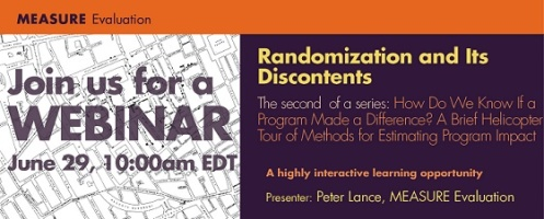 Randomization and Its Discontents Small