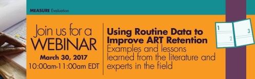 Using Routine Data to Improve ART Retention_webinar banner