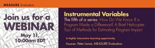 Instrumental Variables_No 5 Peter Lance