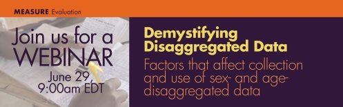 Demystifying Sex-Disaggregated Data